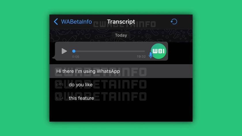 WhatsApp разрабатывает функцию для ненавистников голосовых сообщений