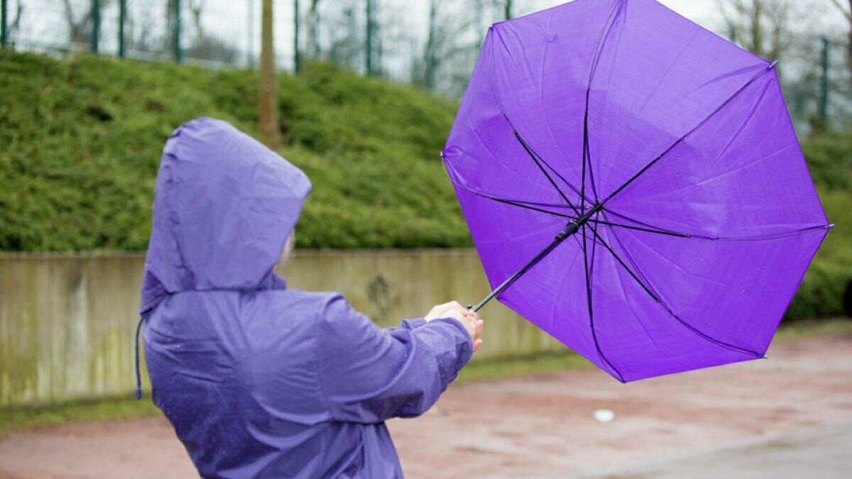 Погода в Казахстане: на большей части – дожди с грозами и сильным ветром