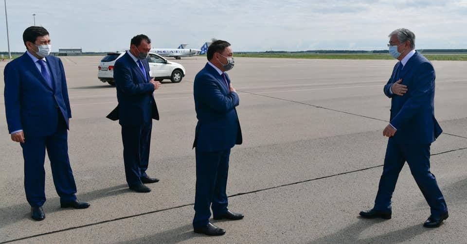 Токаев прибыл в Кокшетау
