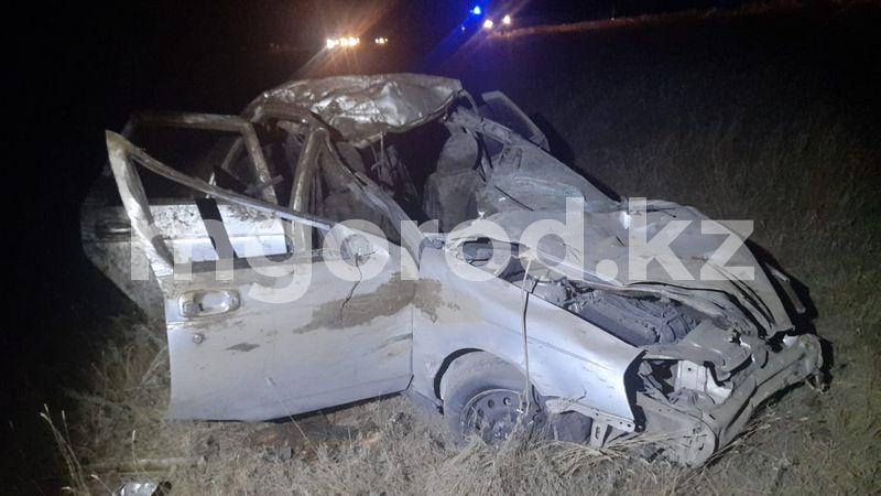 Машина с украденной невестой попала в серьезное ДТП в ЗКО