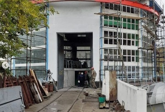 Қ.Сәтбаев атындағы су арнасының сорғы станциясы қайта іске қосылды