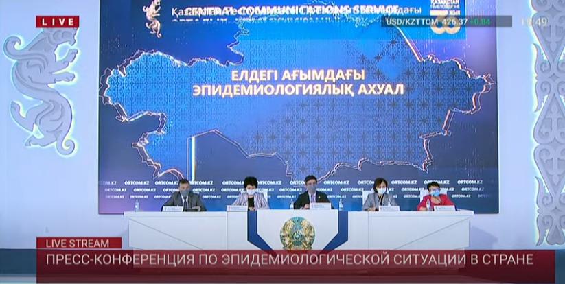 Об эпидемиологической ситуации в Казахстане