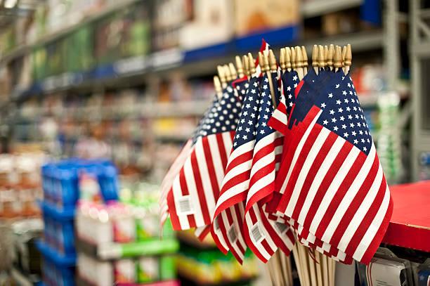 Розничные продажи в США в июле упали на 1,1%