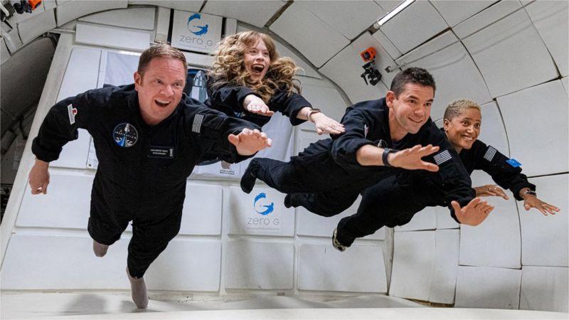 Любители во главе с миллиардером полетели в космос