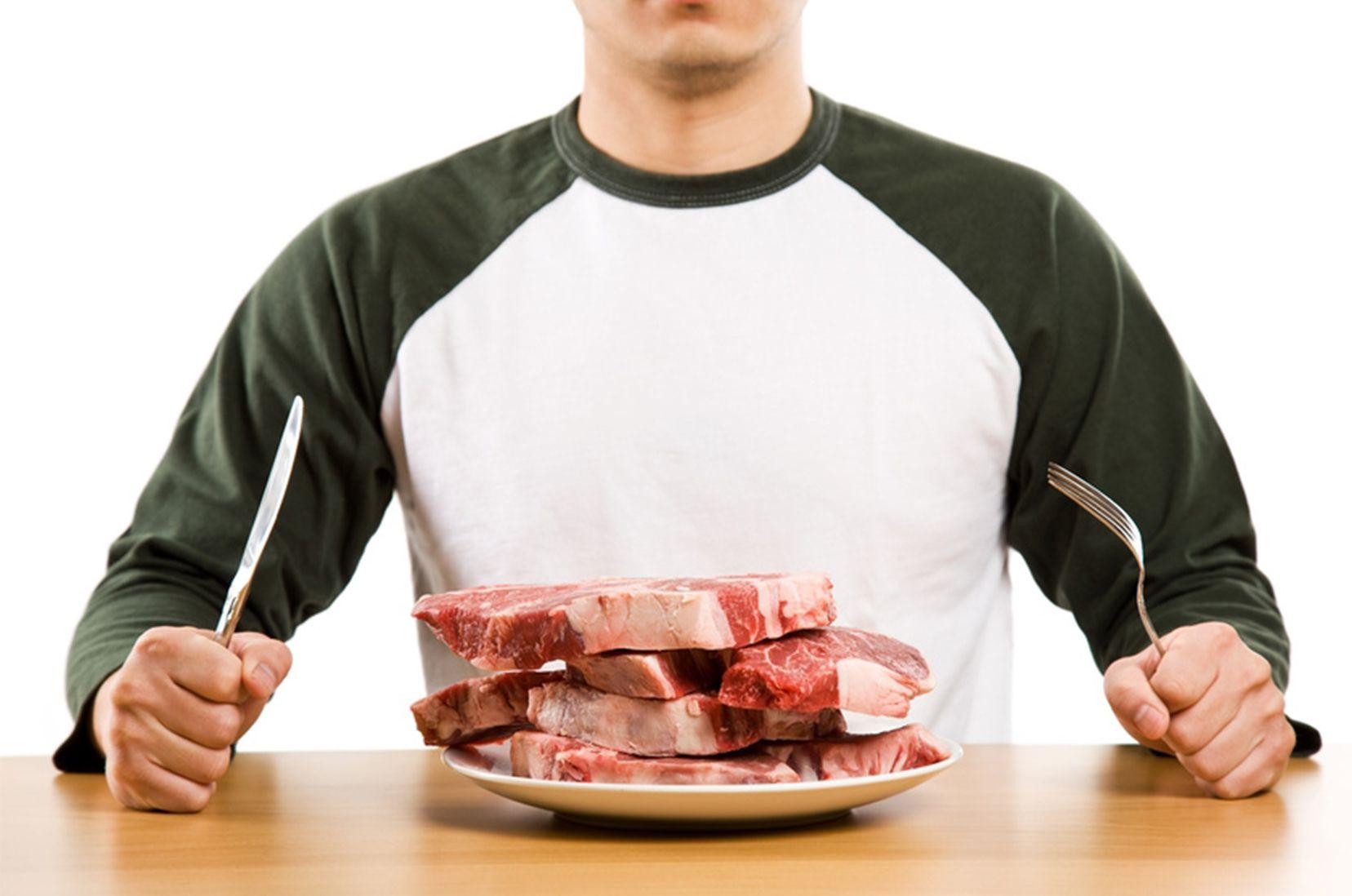 Что произойдет с организмом, если полностью отказаться от мяса