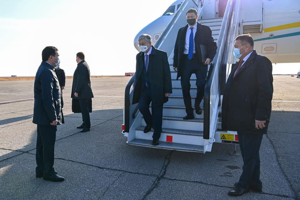 Токаев прибыл в Карагандинскую область