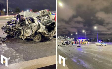 Жуткое ДТП на мосту в Нур-Султане: погибли пять человек