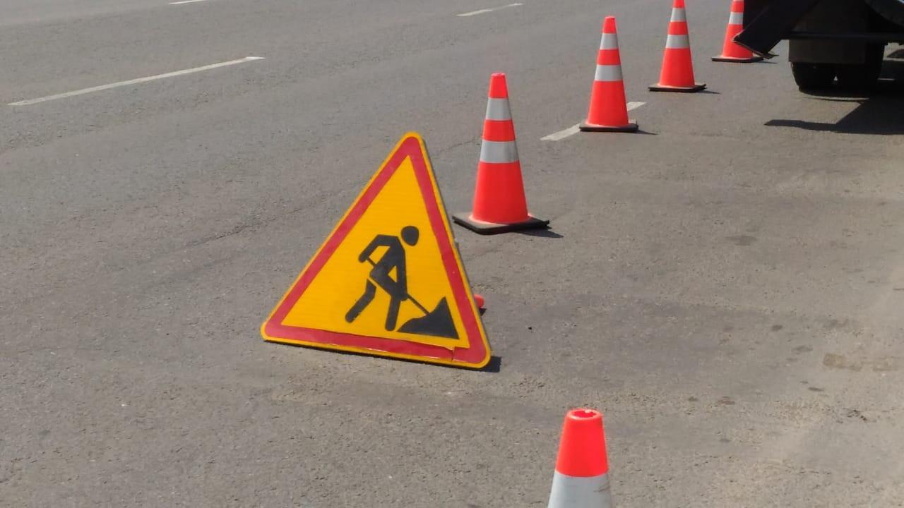 Участок улицы перекрыт в Нур-Султане