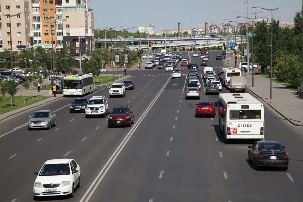 Новая автобусная полоса появится в Нур-Султане