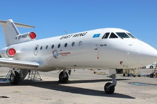 У самолета с врачами, вылетевшего из Алматы в Семей, отказал двигатель