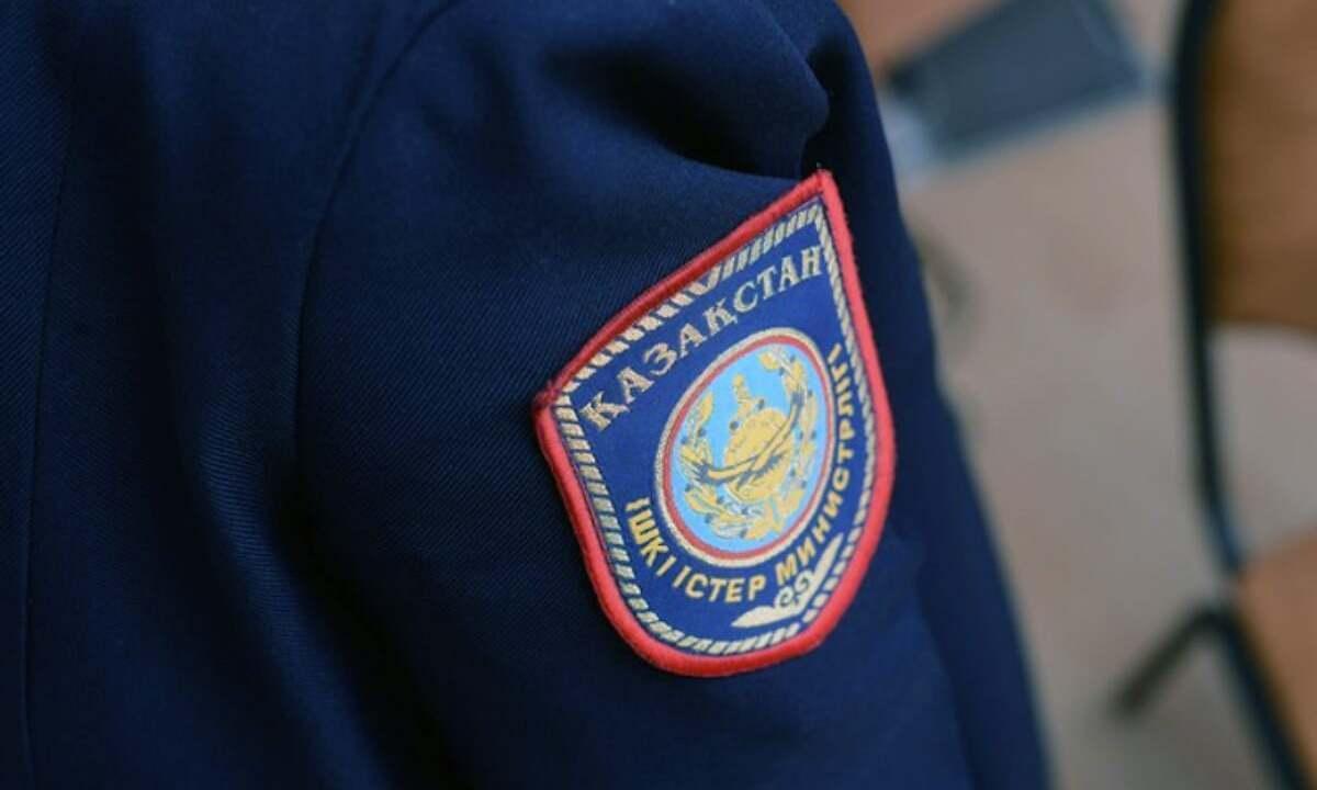 Полицейского на полном ходу сбил пьяный водитель в Алматы