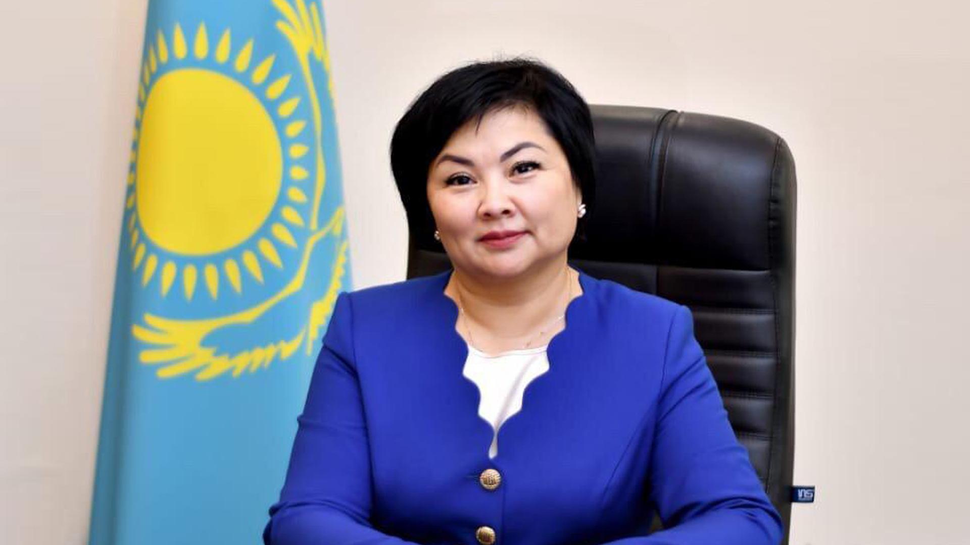 Шолпан Каринова назначена первым вице-министром образования и науки РК