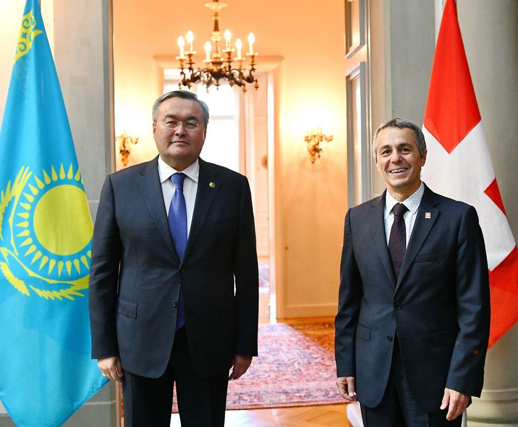 Президента Казахстана ждут с визитом в Швейцарии в ноябре