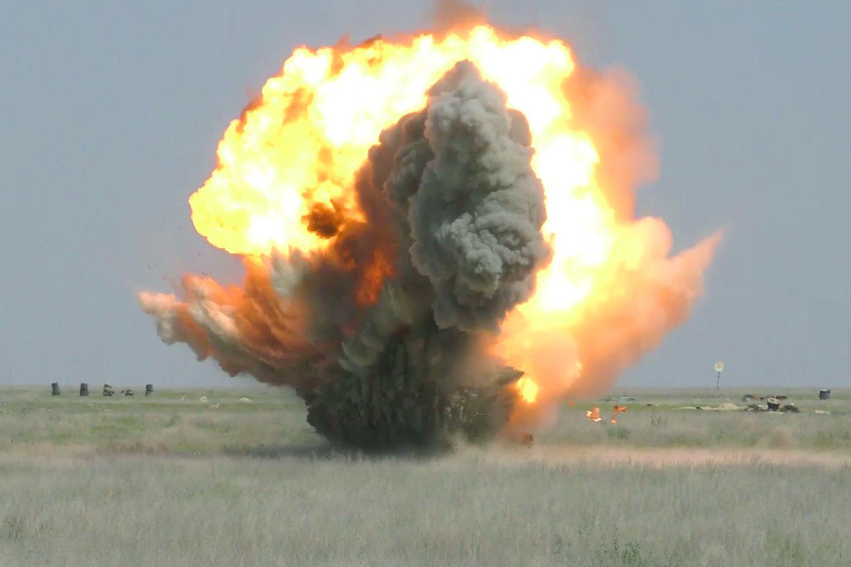 Снова взрывы близ Тараза