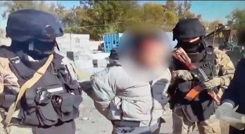 Спецоперация силовиков в Алматинской области попала на видео