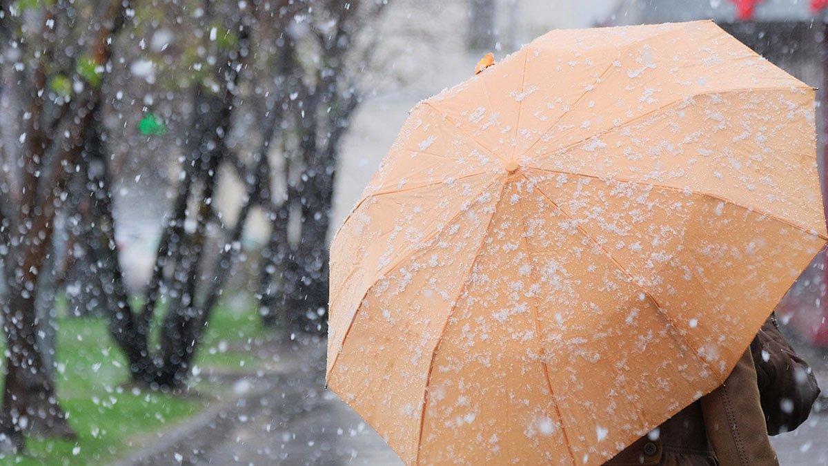Дожди, местами снег – погода в Казахстане