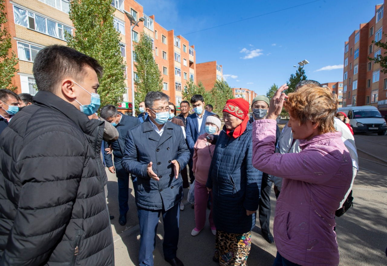 Более 100 жителей из Косшы обратились в Nur Otan
