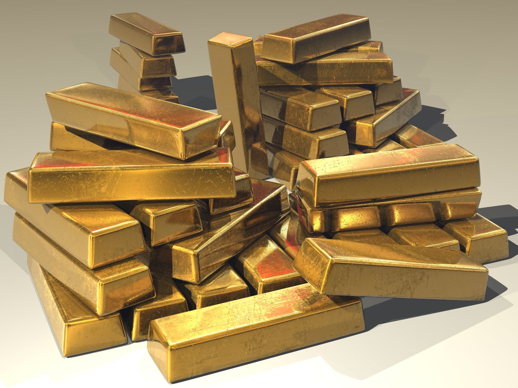 Банки каких стран скупили больше золота