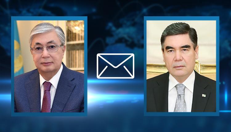 Токаев направил телеграмму президенту Туркменистана