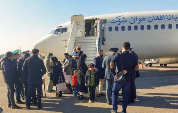 Казахстан предоставил аэропорт Алматы для транзита из Афганистана