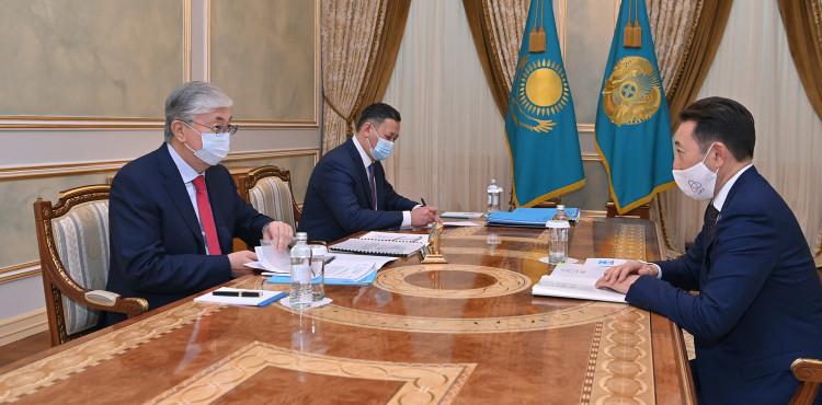 Президент принял исполнительного директора Секретариата СВМДА