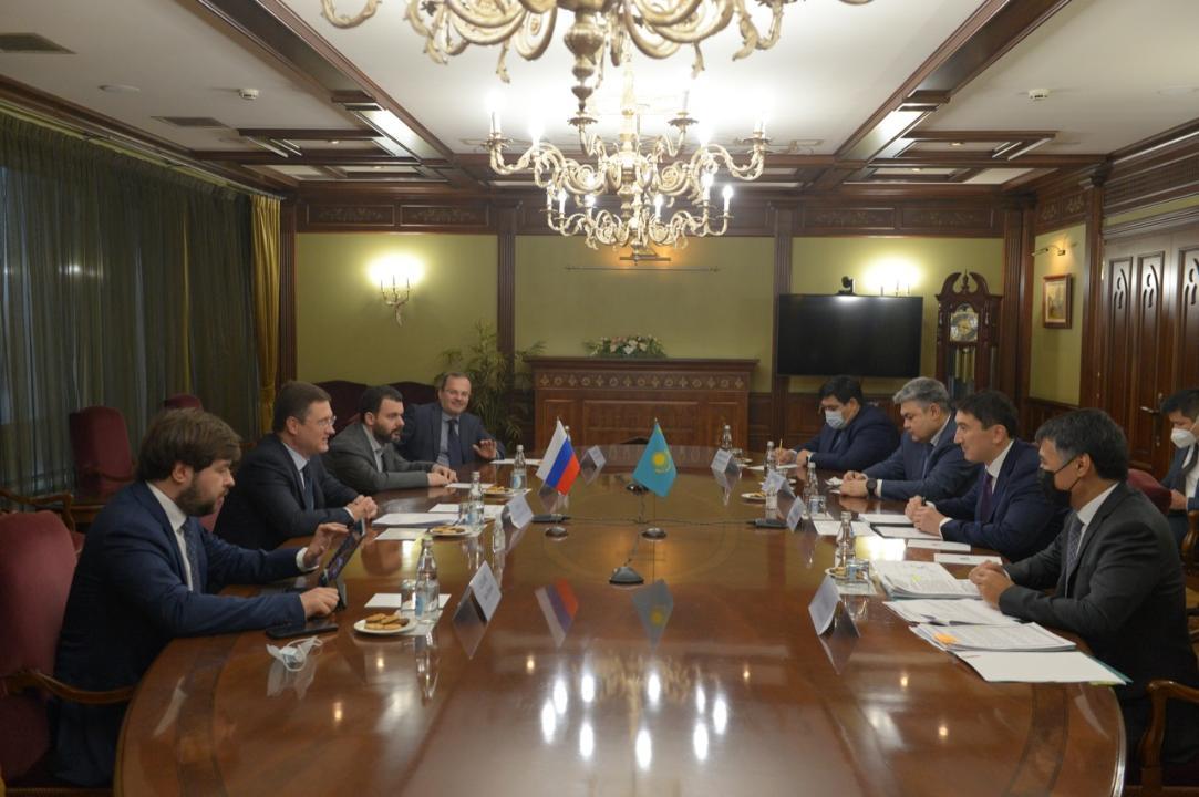 Казахстан и Россия продолжат сотрудничество в топливно-энергетической сфере