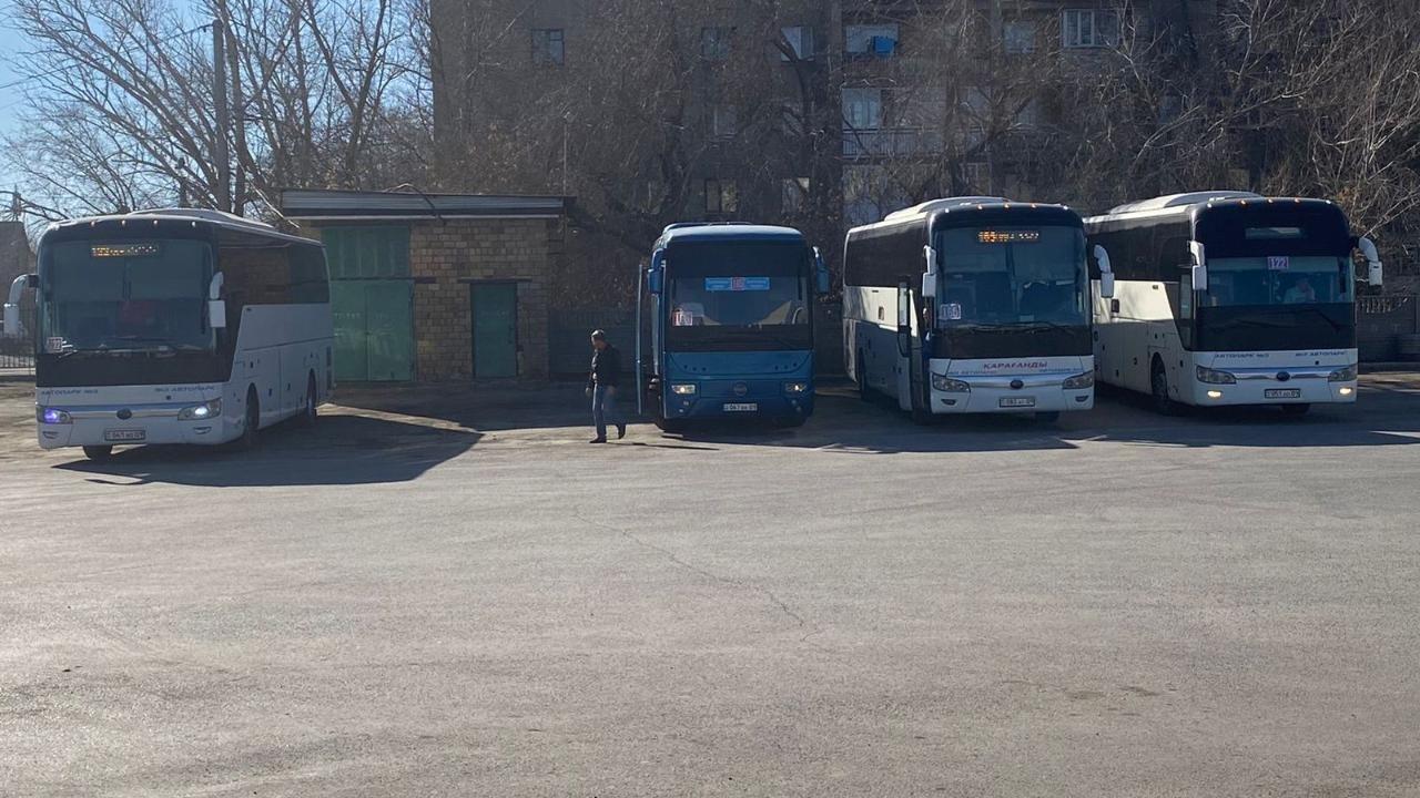 Ситуация с общественным транспортом в Карагандинской области разрешилась