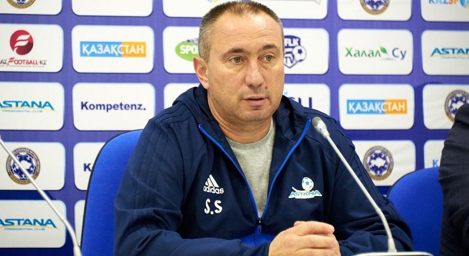 Стоилов рассказал о потерях «Астаны» накануне матча со «Славией»