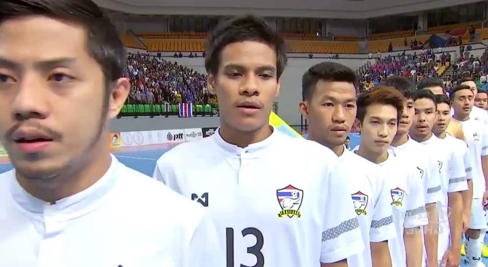Казахстан пока второй на футзальном Кубке короля Таиланда