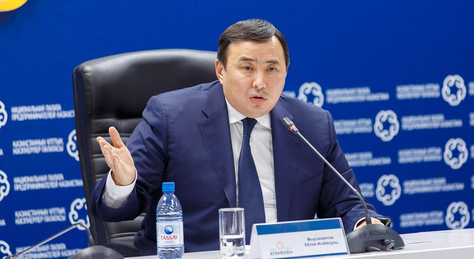 Аблай Мырзахметов: «Бизнес ищет рынки сбыта и финансирование»
