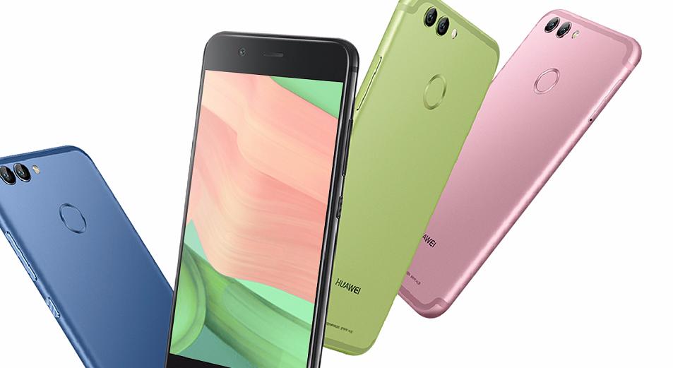 Представлены смартфоны Huawei Nova 2 и Nova 2 Plus