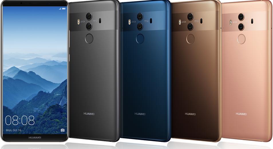 Huawei представляет флагманские смартфоны Mate 10 и Mate 10 Pro