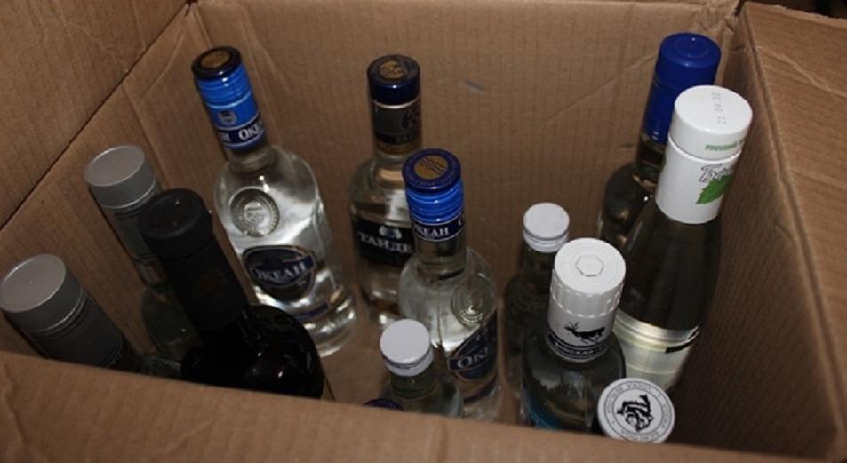 В Павлодаре задержали организаторов производства контрафактного алкоголя