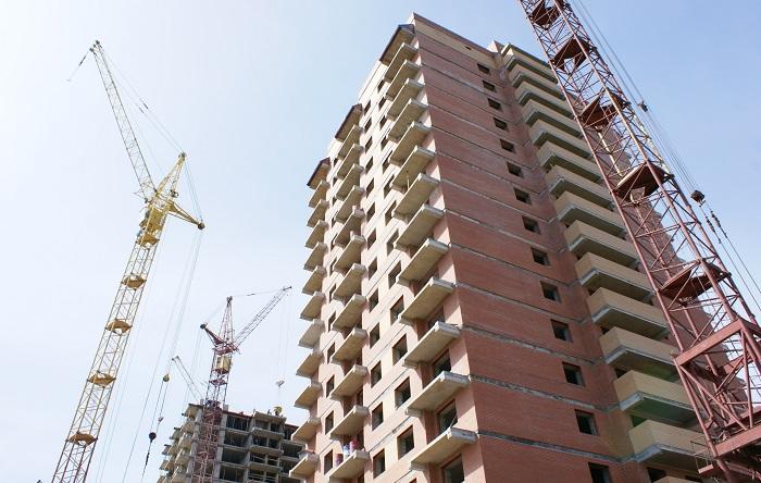 Общий объем вводимого жилья в Казахстане растет