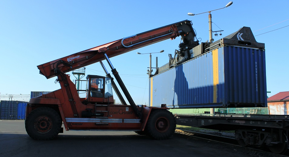 Казахстан на грани исчерпания потенциала обработки контейнеров