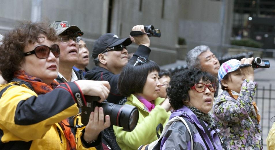 Расходы туристов из Китая в 2015 году больше ВВП Казахстана