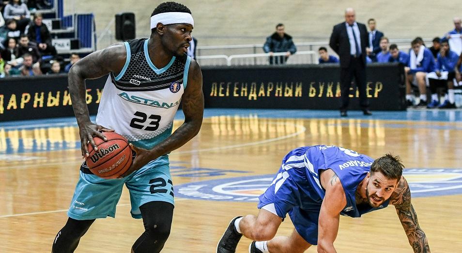 «Астана» впервые вошла в первую восьмерку Единой Лиги ВТБ