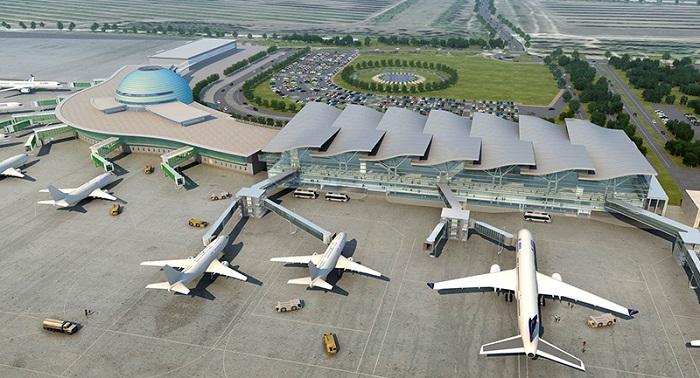 Новый терминал аэропорта в Астане сдадут в марте 2017 года