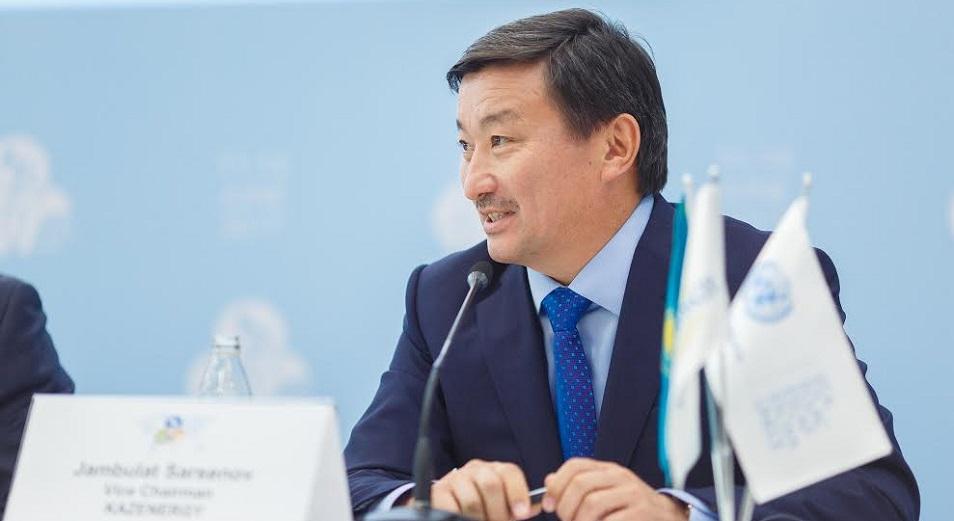 Джамбулат Сарсенов избран вице-президентом Всемирного нефтяного совета