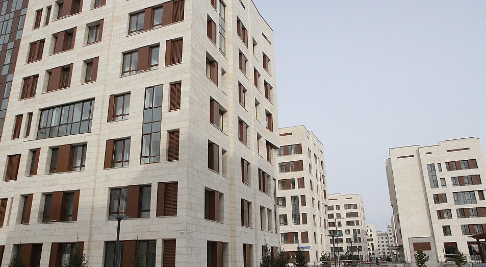 Объем построенного жилья в Астане вырос в два раза