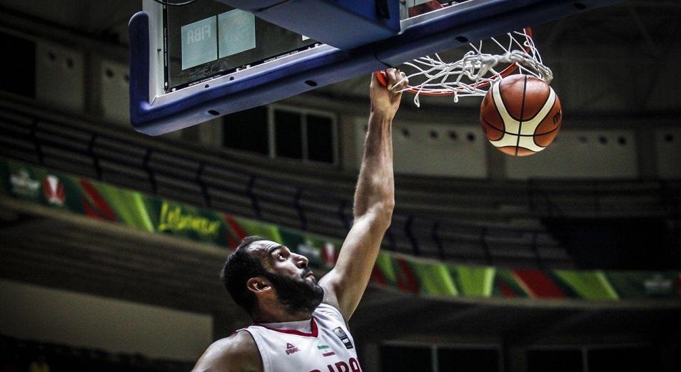 Казахстан уступил Ирану первенство в отборе чемпионата мира по баскетболу