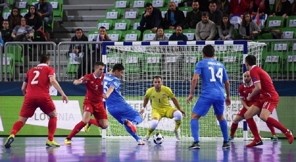 Евро-2018 по футзалу: Казахстан ждет Испанию или Украину в полуфинале