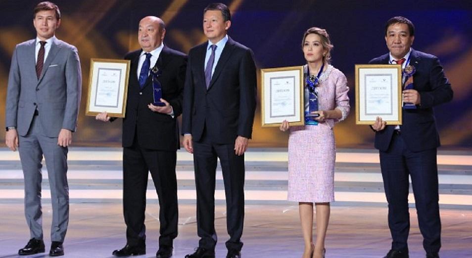 Тимур Кулибаев вручил производителям премию «Ұлы дала елi»