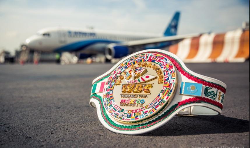WBC официально представил специальный пояс второго боя Головкин — «Канело»
