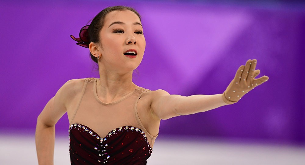 Фигуристка Элизабет Турсынбаева завоевала «серебро» в Барселоне