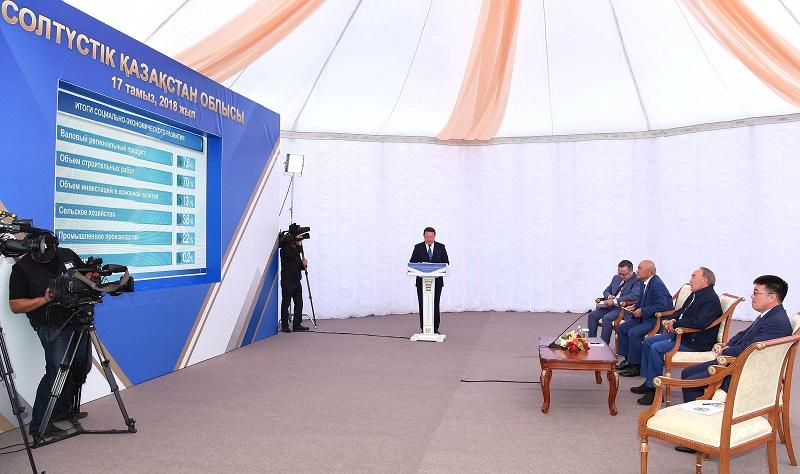 Земледелие и животноводство надо развивать в СКО – Нурсултан Назарбаев