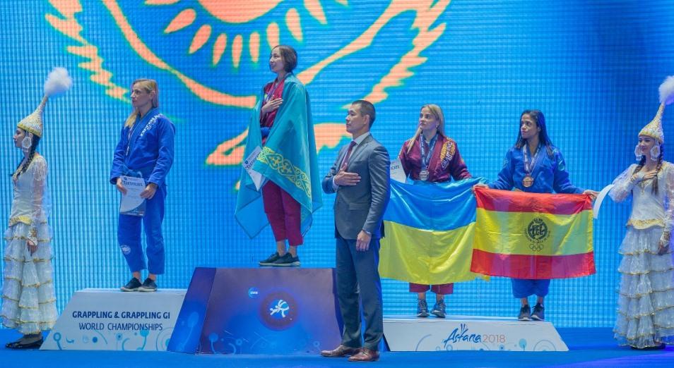 Чемпионка мира по грэпплингу о ЧМ: «Был настрой выйти и победить»