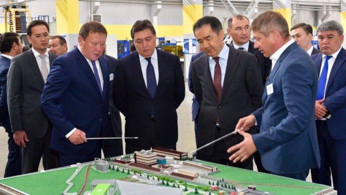 Бакытжан Сагинтаев ознакомился с развитием пищевой промышленности в СКО