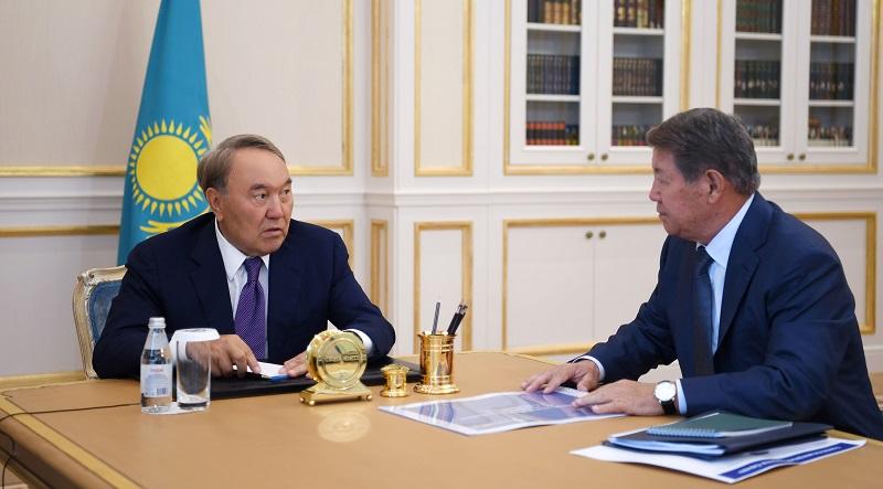 Нурсултан Назарбаев принял Ахметжана Есимова