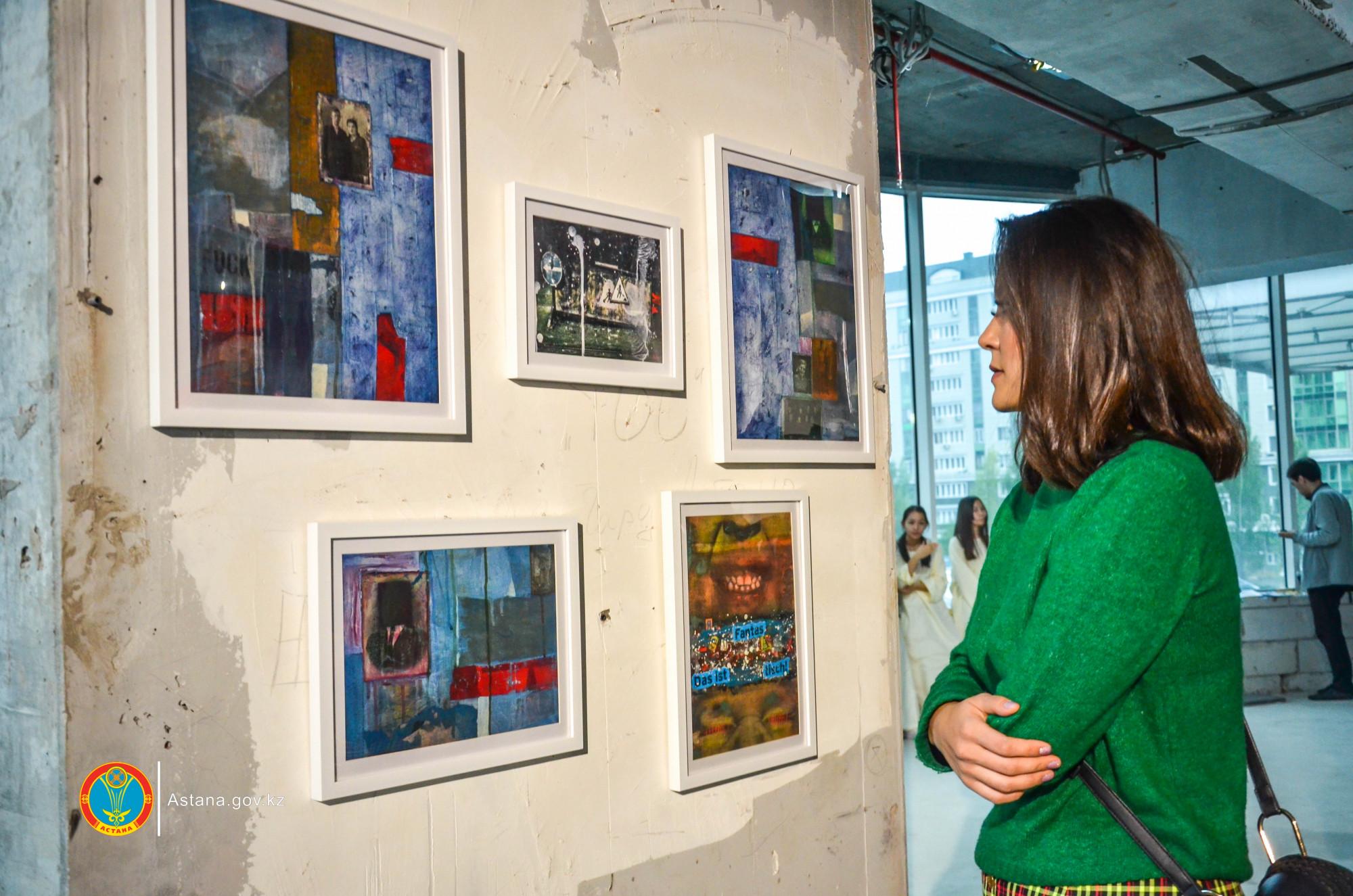 В Астане открылась уникальная выставка молодых художников